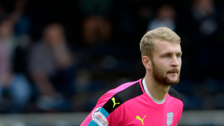 Scott Bain hasn't featured for Dundee since October