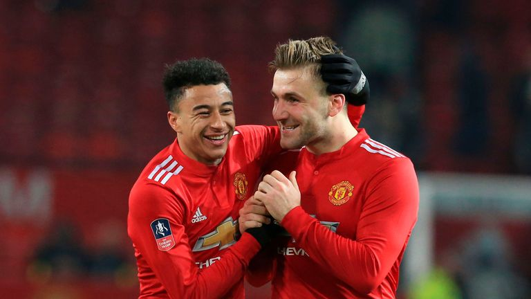 Luke Shaw has enjoyed a renaissance, having been out of favour with Jose Mourinho last season