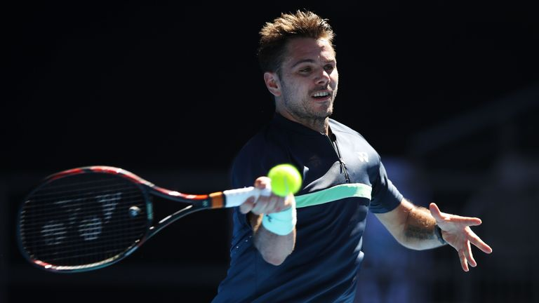 Stan Wawrinka overcame a mid-match slump to book a place in the second round in Melbourne