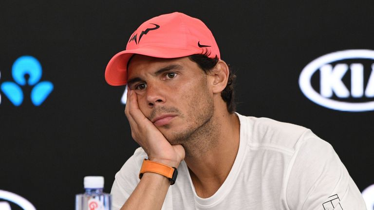 Rafael Nadal continues to struggle with injury