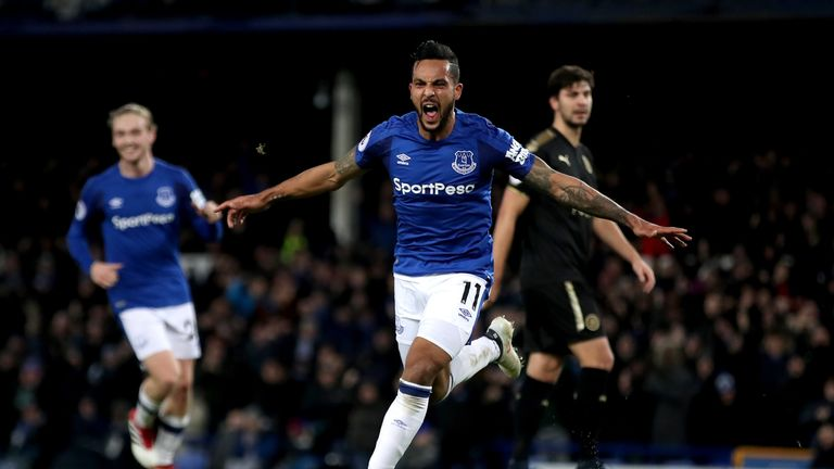 Theo Walcott says he is relishing life at Goodison Park