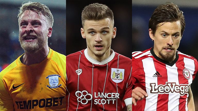 Tom Clarke, Jamie Paterson and Lasse Vibe all made the Whoscored.com Sky Bet Championship team of the month for December
