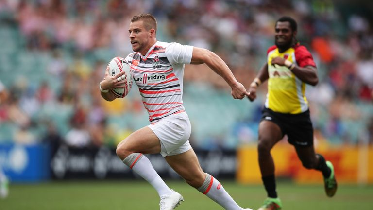 Tom Mitchell will once again captain England Sevens in Las Vegas