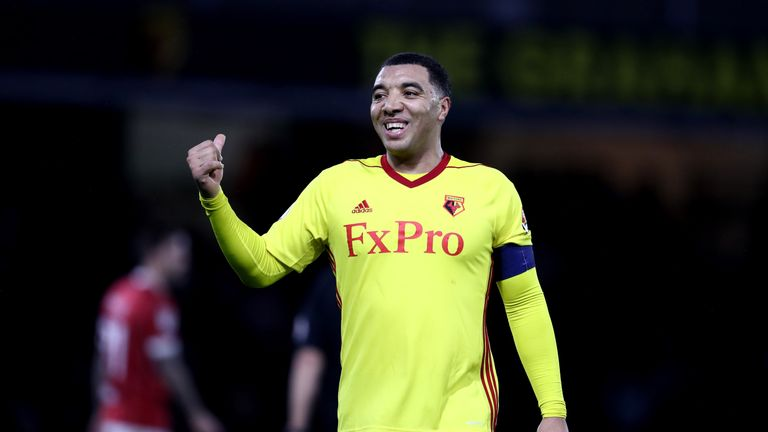 Troy Deeney has been struggling with illness