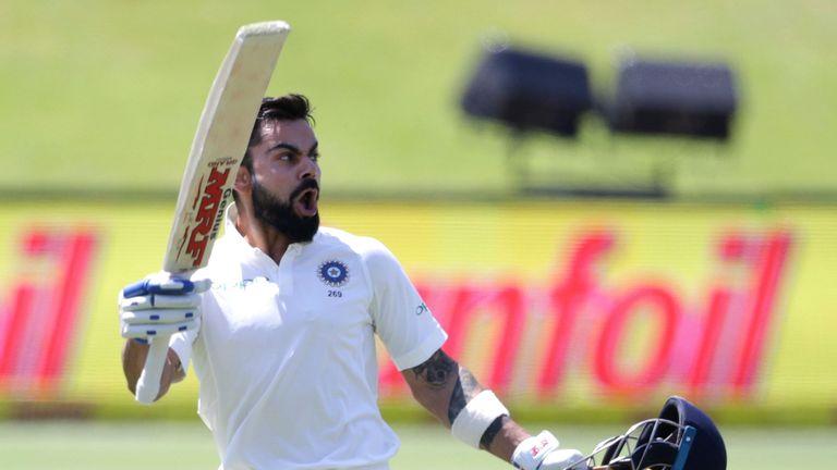 India's captain Virat Kohli - the ICC Men's Cricketer of the Year