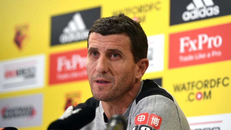 Javi Gracia will take charge of his first Premier League match