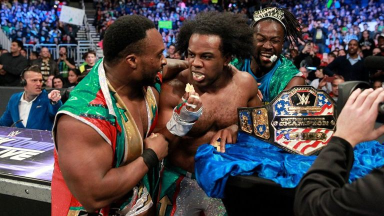 Xavier Woods advanced to the next round of the US title tournament