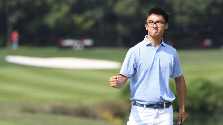 Marty Dou is the first Chinese winner of a Web.com Tour event