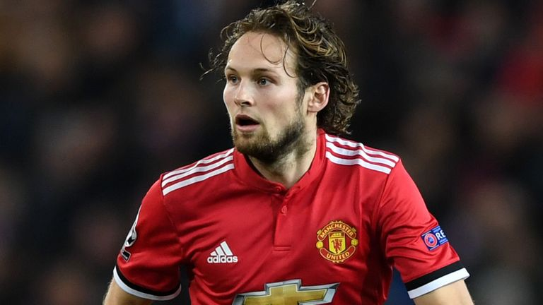 Blind has made 140 appearances for United