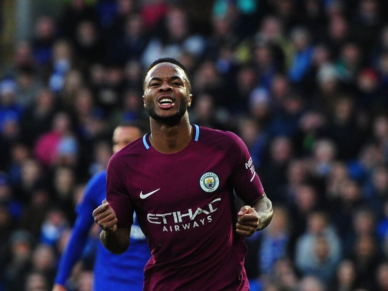 wholesale dealer e4f64 9e543 Raheem Sterling - Manchester City | Player Profile | Sky ...