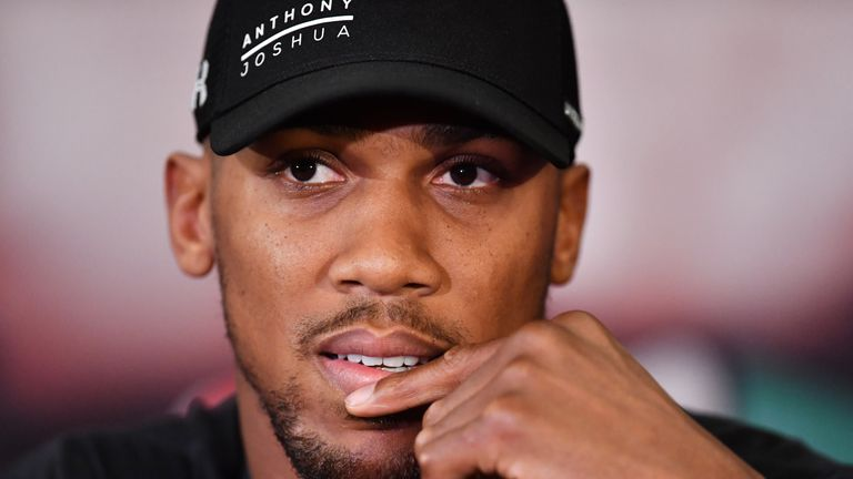 Joshua has the small matter of Parker to deal with first