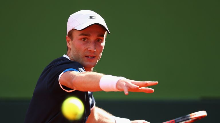 Liam Broady fell at the final qualifying hurdle of the New York Open