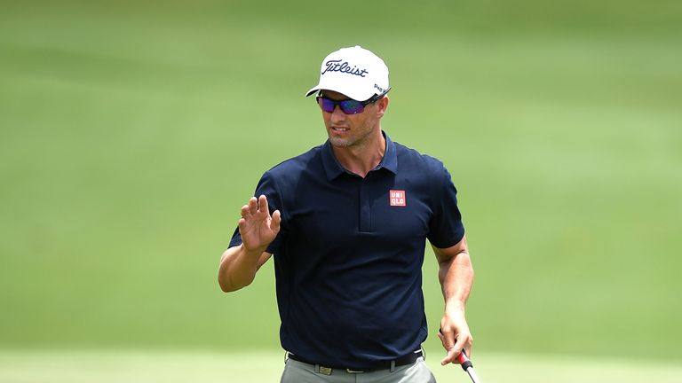 Adam Scott has qualified for the US Open