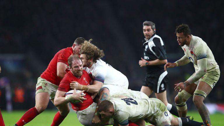 Alun Wyn Jones is set to return for Wales