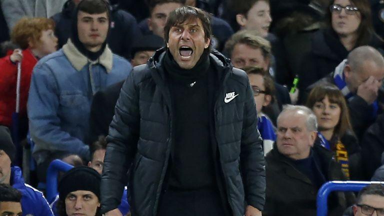 Antonio Conte has appeared frustrated this season