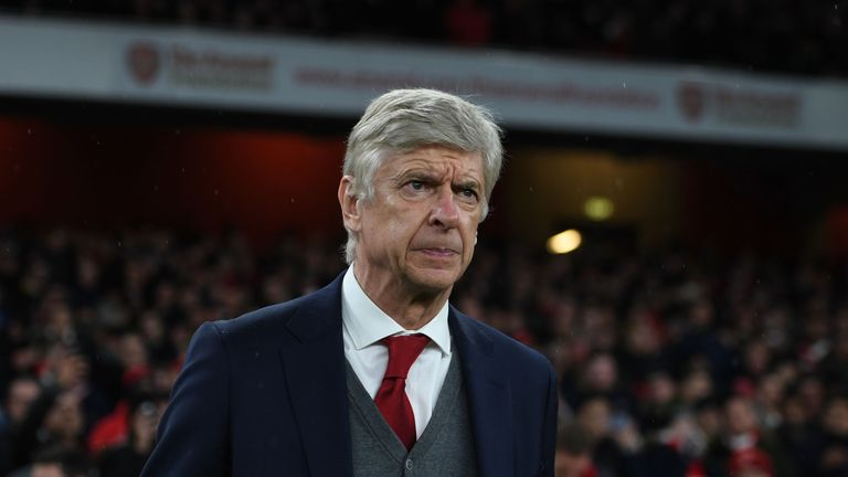 Arsene Wenger dismissed talk about his future