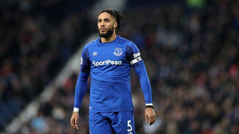 Everton will be without Ashley Williams against the Seagulls