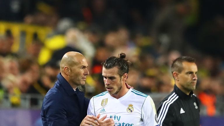 Zinedine Zidane insists there is no problem with Gareth Bale at Real Madrid