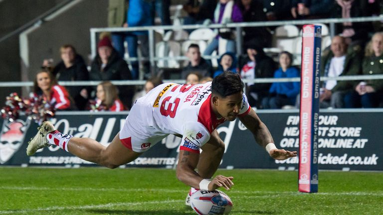 St Helens' outstanding Ben Barba is the talk of Super League at present