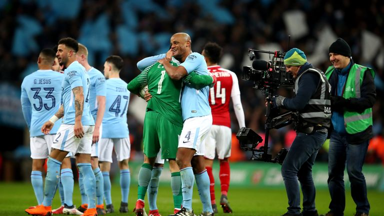 City proved too much for Arsenal and took the first silverware of the season