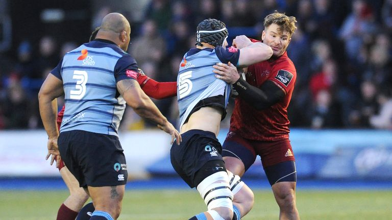 Munster made a host of errors in defeat, losing more ground in PRO14 Conference A