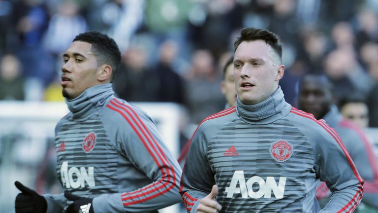 Chris Smalling and Phil Jones haven't always proven a successful duo at the back