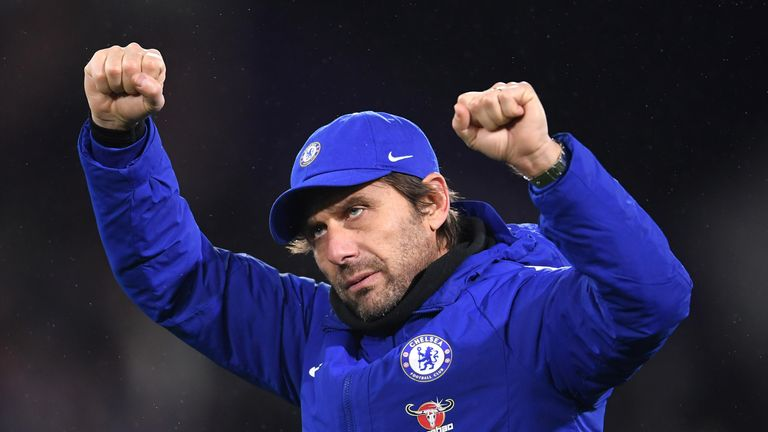 Conte insists he is fully committed to the Blues