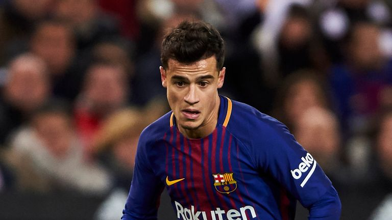 Philippe Coutinho put in his most impressive display for Barcelona