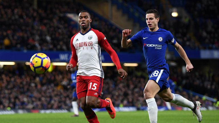 Daniel Sturridge was injured early on against former side Chelsea