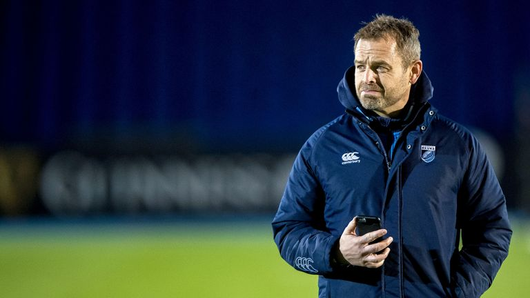 Cardiff Blues head coach Danny Wilson will be delighted with the victory