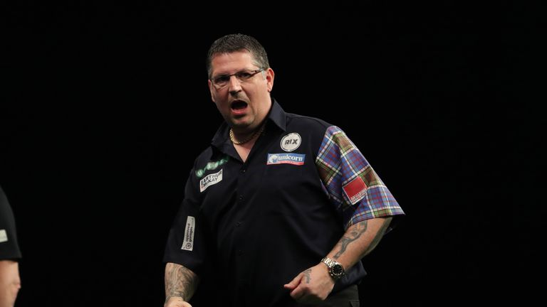 Gary Anderson won his sixth career major TV title with an 11-7 win over Corey Cadby in the UK Open