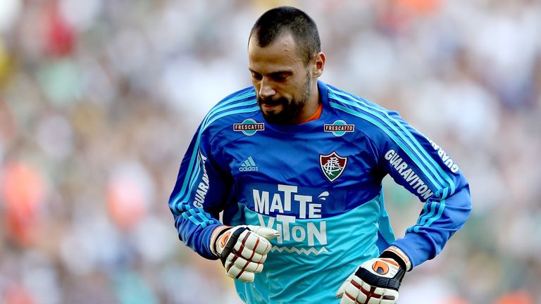 Diego Cavalieri is a free agent and last played for Fluminense