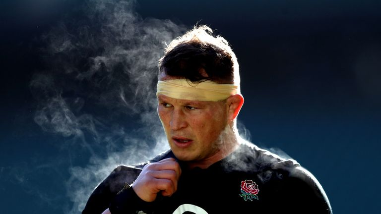 Dylan Hartley was forced to call time on his rugby career due to a knee injury