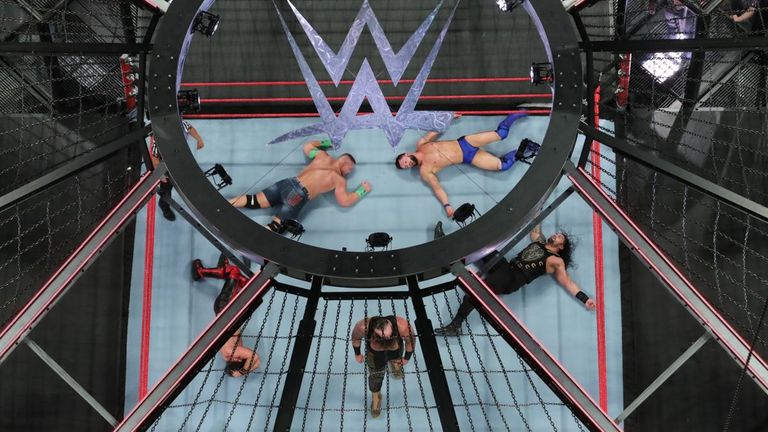 This year's Elimination Chamber takes place at midnight on Sunday on Sky Sports Box Office