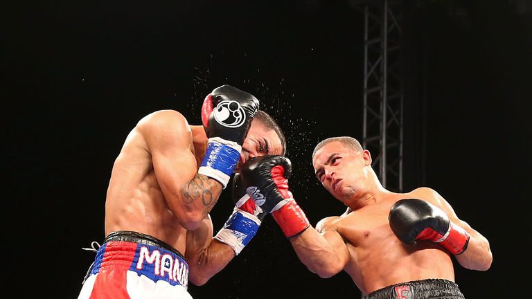 Emmanuel Rodriguez (R) is ranked No 3 by the IBF