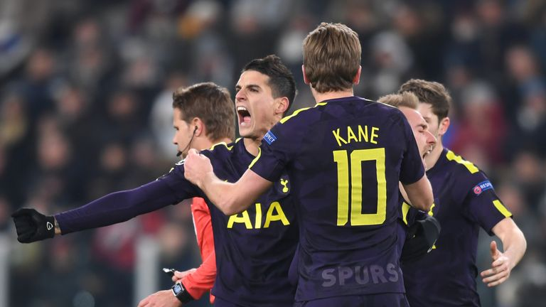 Tottenham came from behind to claim a 2-2 draw away to Juventus on Tuesday night