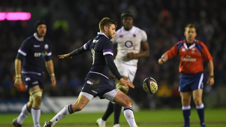 Finn Russell delivered a man-of-the-match performance at Murrayfield