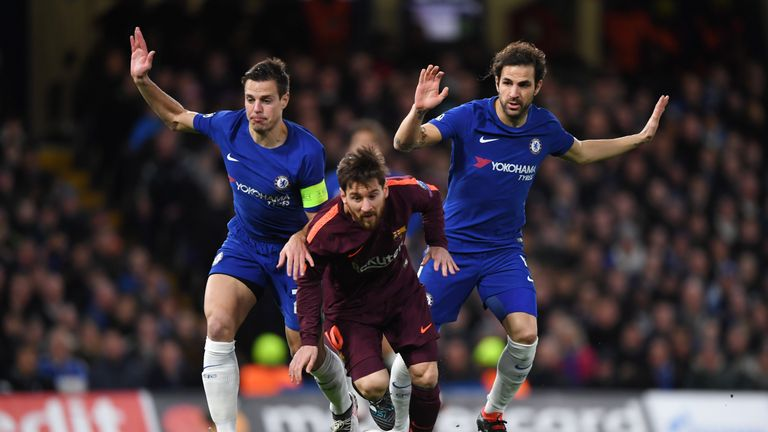Chelsea drew 1-1 with Barcelona on Tuesday