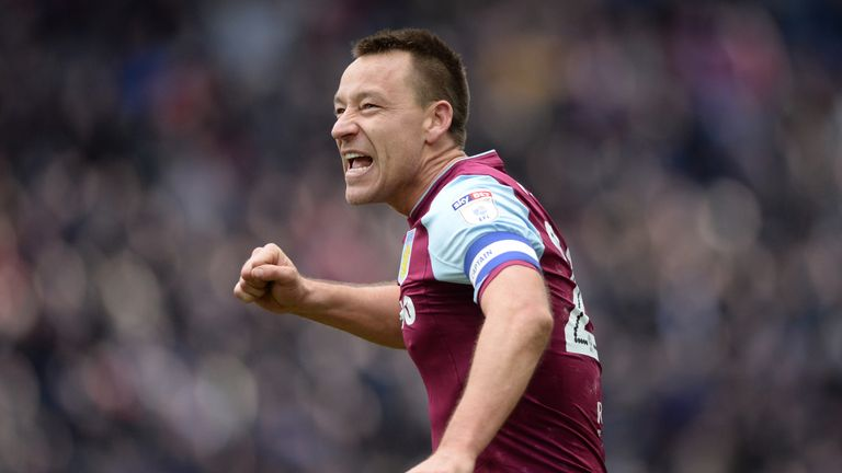 John Terry says he loved his time at Aston Villa