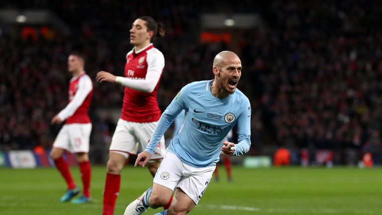 David Silva has been in fine form for Manchester City