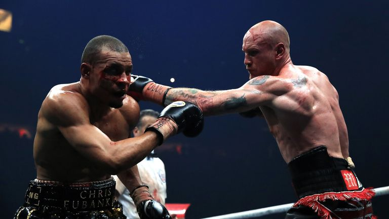 Eubank Jr fell to a unanimous decision defeat against George Groves in Manchester earlier this year