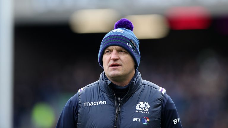 Townsend oversaw Scotland's 25-13 victory over England at Murrayfield in February