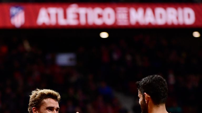 Diego Costa believes Antoine Griezmann should remain at Atletico Madrid