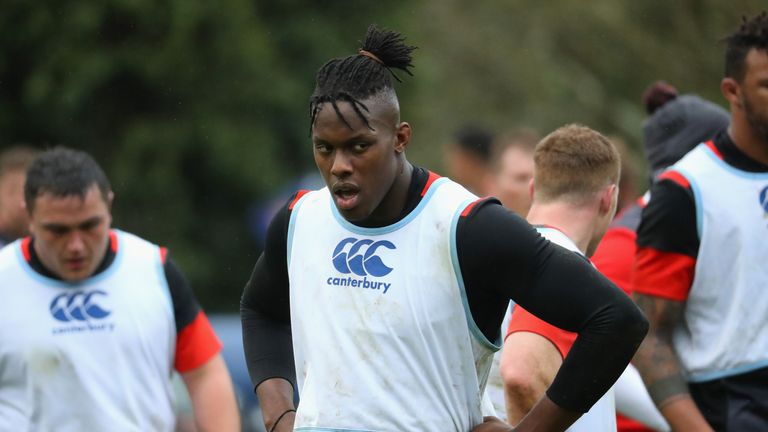 Itoje returned to the England side after breaking his jaw in two places