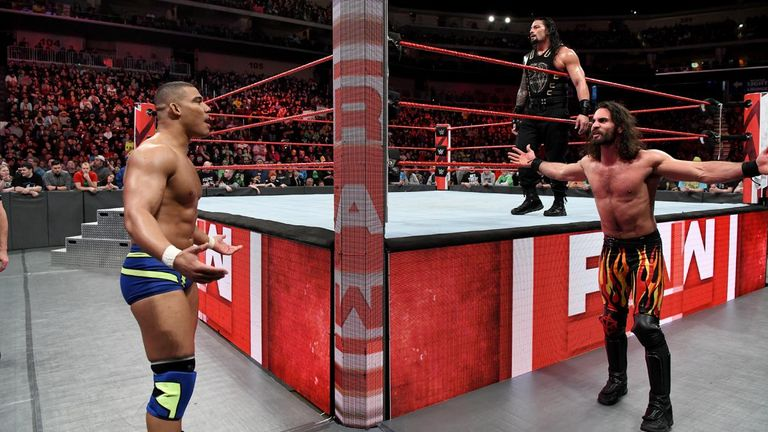 Jason Jordan cost Seth Rollins and Roman Reigns the match against Raw champions The Bar