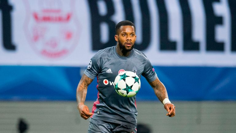 Jeremain Lens joined Besiktas on loan at the beginning of the season