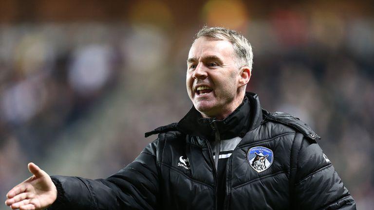 John Sheridan is the new manager of Carlisle.