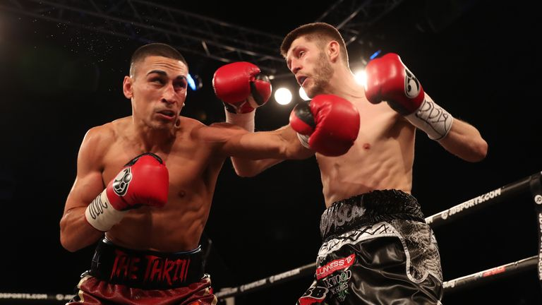 Jordan Gill completed a unanimous points win over Jason Cunningham
