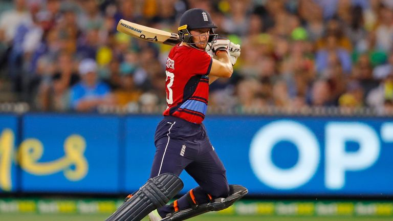 Buttler in action for England during the T20 Tri-Series