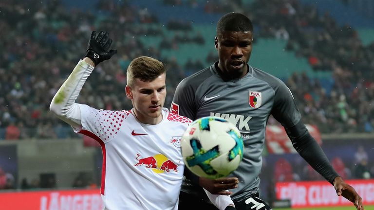 Kevin Danso has made 20 Bundesliga appearances since his debut last season